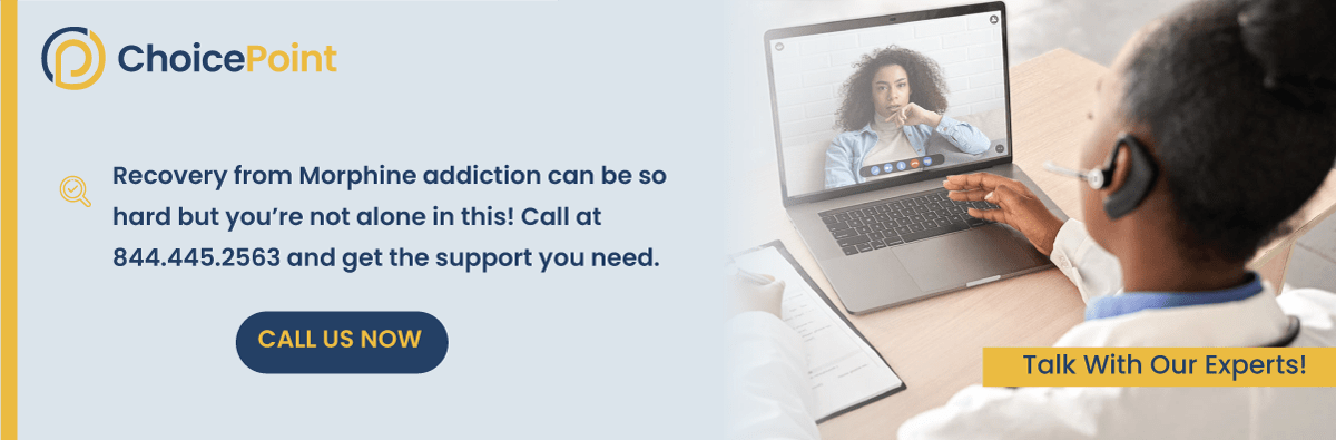 Morphine Addiction Help